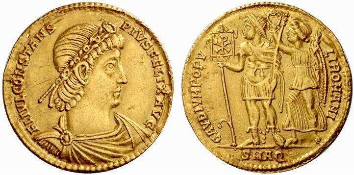 Constans Constans Roman Imperial Coins reference at WildWindscom