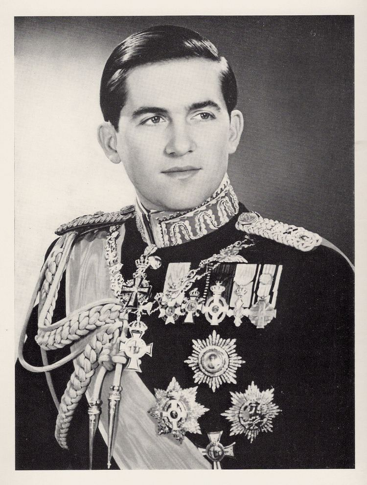 Constantine II of Greece King Constantine II of Greece in 1966 a year before his