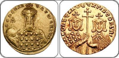 Constantine VII Constantine VII Byzantine Coinage WildWindscom