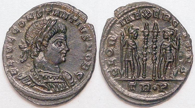 Constantius II Ancient Roman Coins Coins of The Late Roman Empire