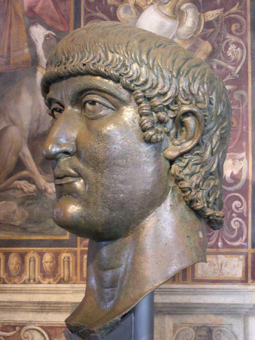 Constantius II Roman Portrait Sculptures 3rd 4th Century