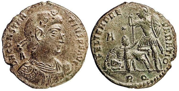 Constantius II Constantius II Siliqua Vows