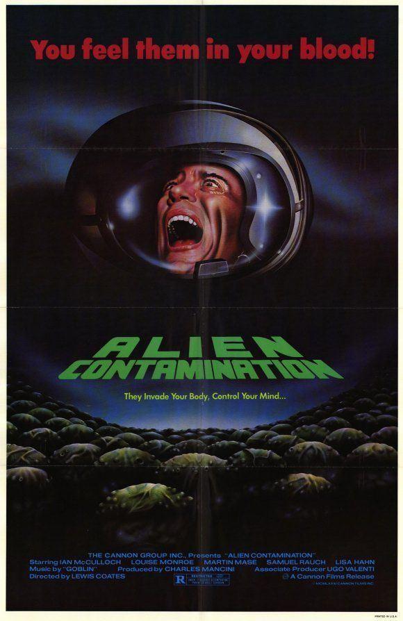 Alien Contamination movie poster