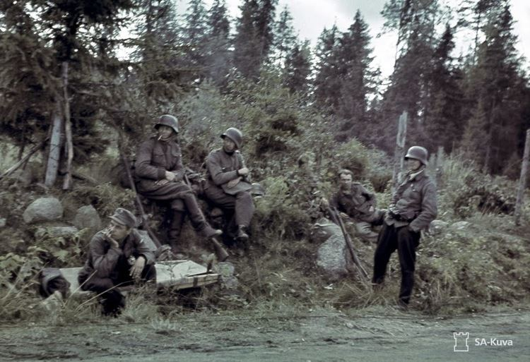 Continuation War Rare Color Photos of The Continuation War from the Early 1940s 20