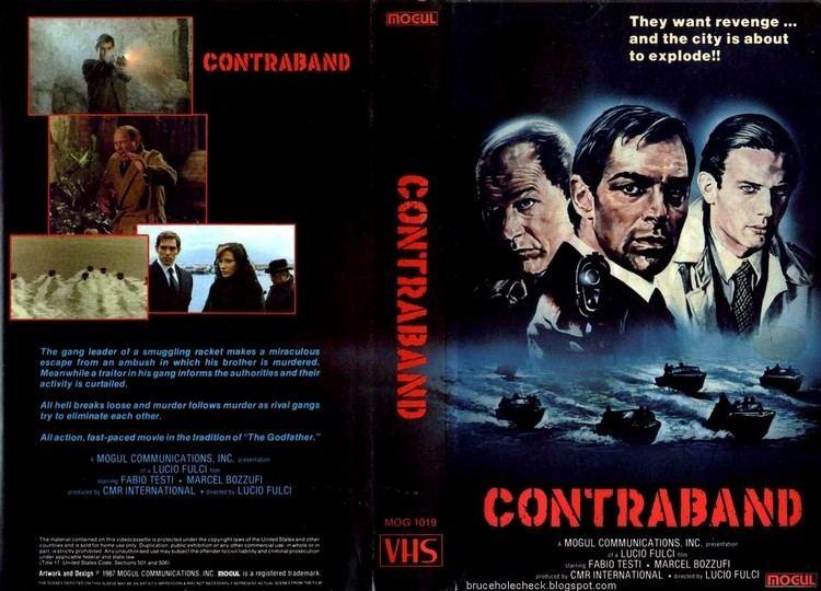 Contraband (1980 film) Cinema Arcana The VHS Archives Lucio Fulcis CONTRABAND 1980
