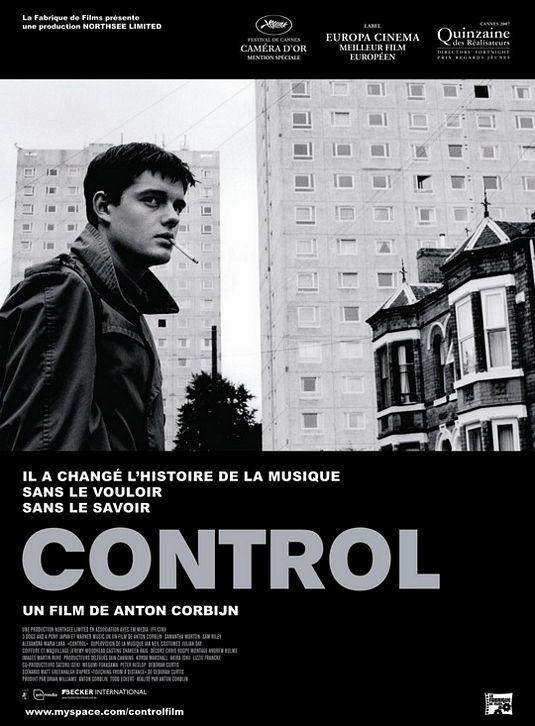 Control (2007 film) Control Movie Poster 2 of 3 IMP Awards
