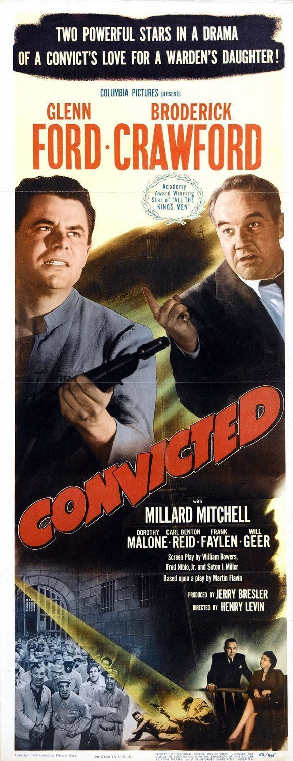 Convicted (1950 film) Convicted Movie Poster 1 of 2 IMP Awards
