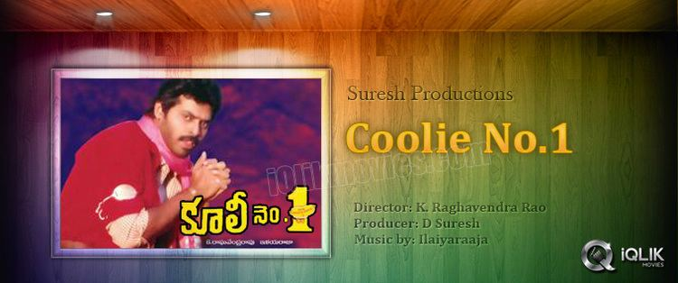 Coolie No. 1 (1991 film) Coolie No 1 Telugu Movie Review Venkatesh Tabu Raghavendra Rao