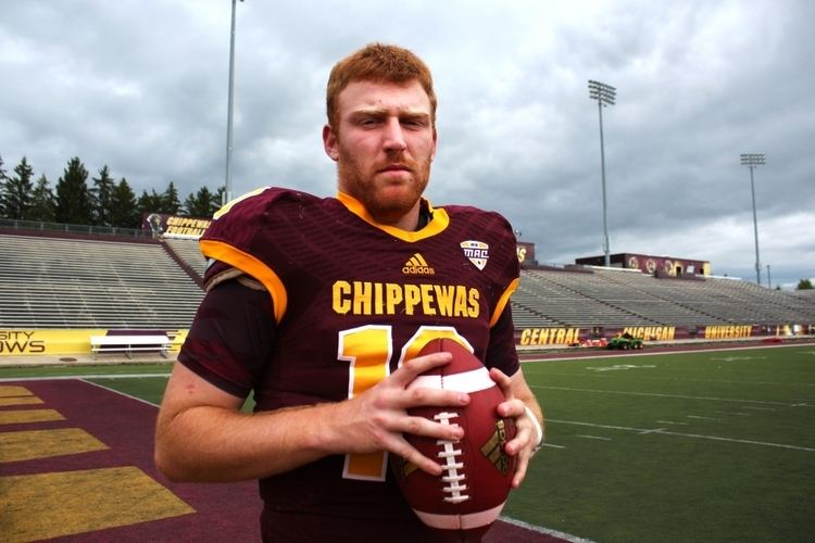 Cooper Rush Central Michigan Life A Legacy in the Making