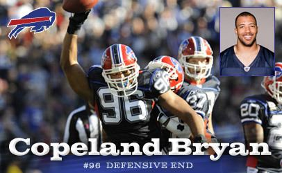 Copeland Bryan Buffalo Bills Copeland Bryan