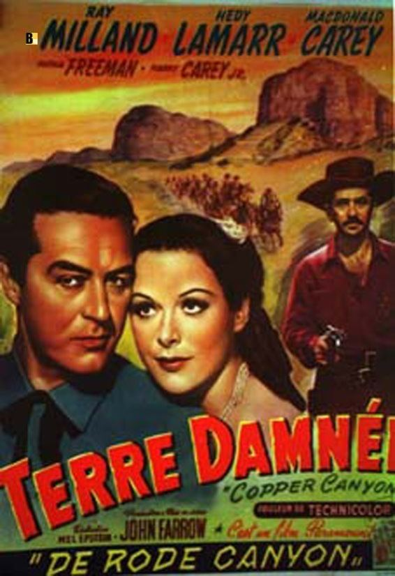 Copper Canyon (film) TERRE DAMNEE MOVIE POSTER COPPER CANYON MOVIE POSTER