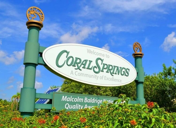 Coral Springs, Florida Culture of Coral Springs, Florida