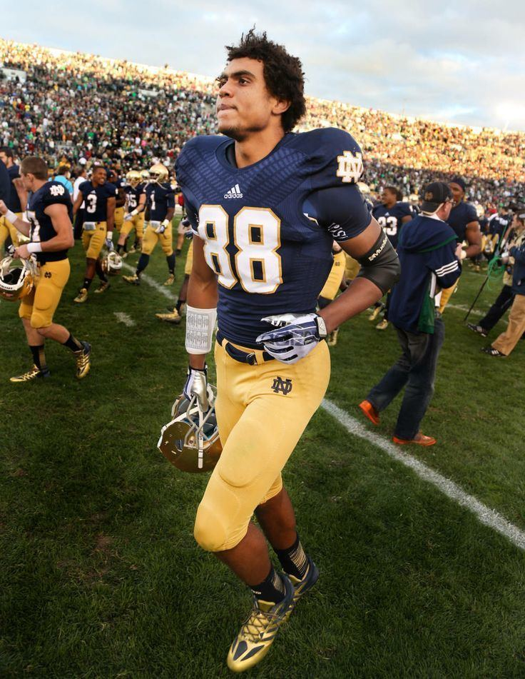 Corey Robinson (wide receiver) David Robinson39s son Corey becoming star Notre Dame WR