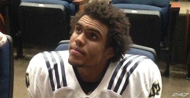 Corey Robinson (wide receiver) Family Remains Close For Notre Dame WR Corey Robinson