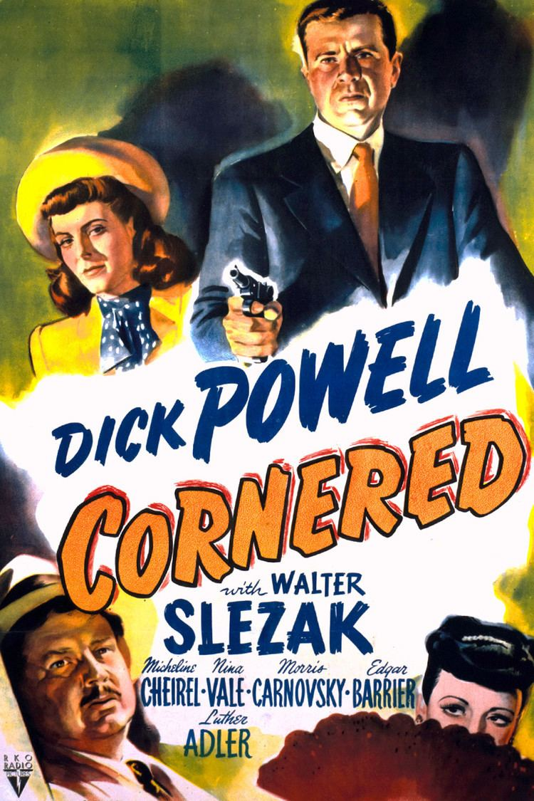 Cornered (1945 film) wwwgstaticcomtvthumbmovieposters4588p4588p