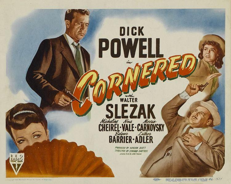 Cornered (1945 film) Cornered 1945