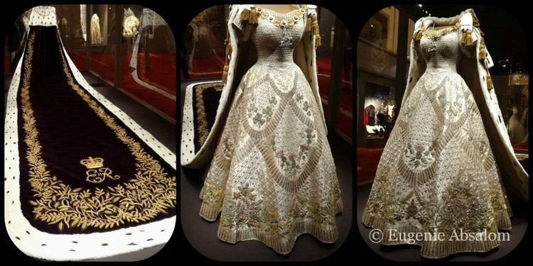 Coronation gown of Elizabeth II 1000 images about Elizabeth II Coronation Robes on Pinterest