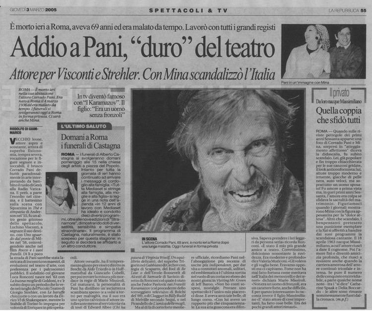 Corrado Pani Nuova pagina 1