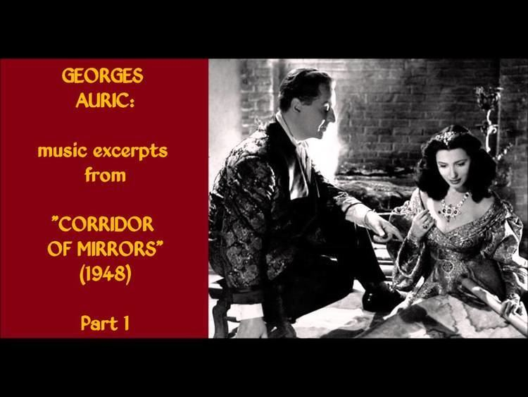 Corridor of Mirrors (film) Georges Auric music excerpts from Corridor of Mirrors 1948 Part