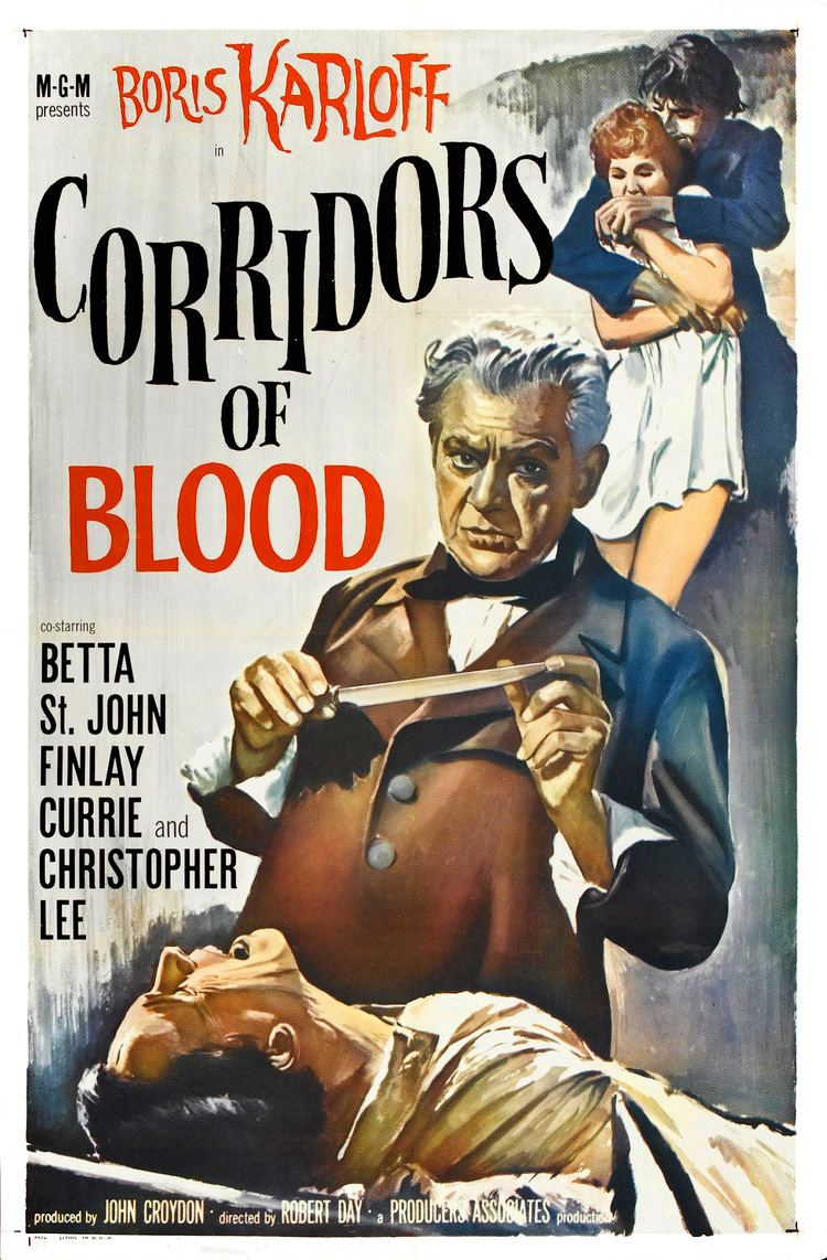 Corridors of Blood Poster for Corridors of Blood 1958 UK Wrong Side of the Art