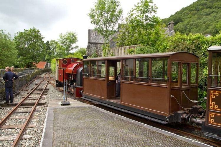 Esgairgeiliog Railway Station Photo Corris Railway. Machynlleth 3 Corris