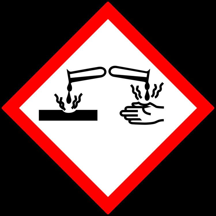 Corrosive substance