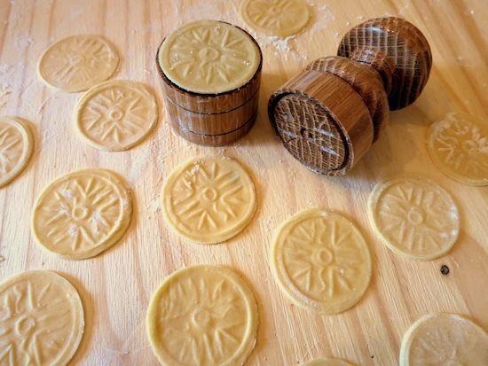 Corzetti Corzetti Stampati alle Erbe Corzetti with Herbs American Food Roots