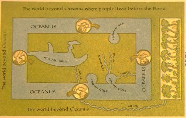 Cosmas Indicopleustes 202 Cosmas Indicopleustes39 world picture 6 th century