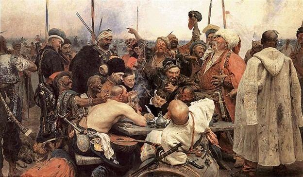 Cossacks picRERepinIliaZaporozhianCossacksWriteaLettertoSultanjpg