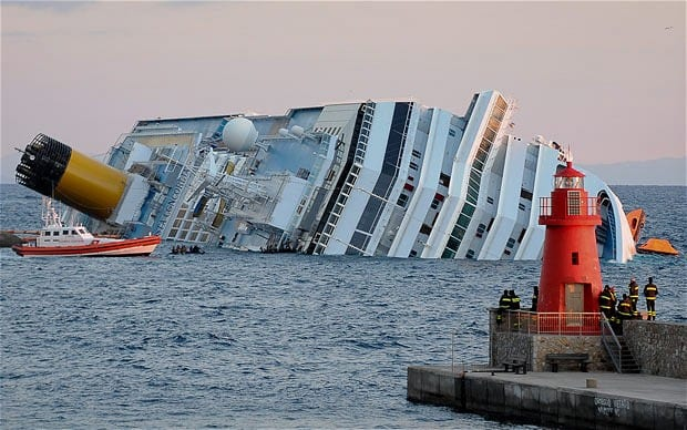 Costa Concordia disaster Cruise disaster Costa Concordia captain39s route change blamed for