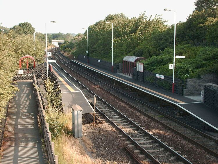 Cottingley railway station