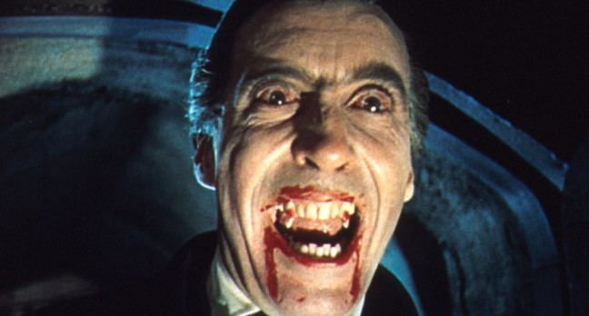 Count Dracula In memoriam Christopher Lee Hammer39s Count Dracula The Register