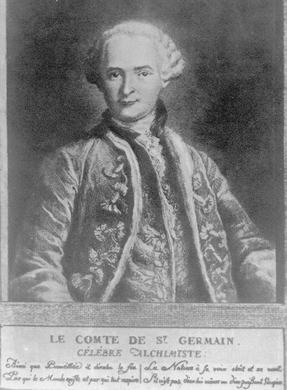 Count of St. Germain SaintGermain The Immortal Count He was an alchemist who