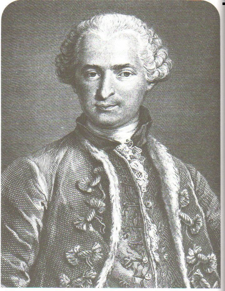 Count of St. Germain Casanova Splatter
