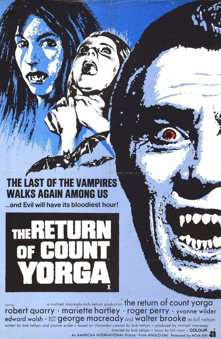 Count Yorga, Vampire COUNT YORGA WORMWOOD CHRONICLES