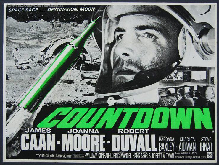 Countdown (1968 film) Countdown 1968 Original British Quad Movie Poster James Caan