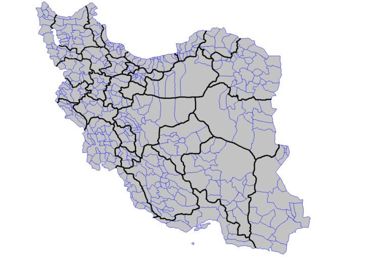 Counties of Iran