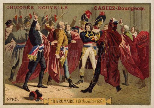 Coup of 18 Brumaire Coup of 18 Brumaire French Revolution 10 November 1799 Look and