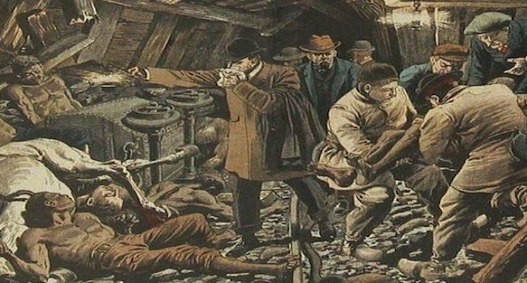 Courrières mine disaster Today in Buried History The French Mining Disaster that killed over