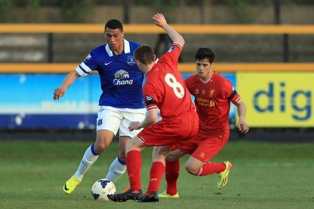 Courtney Duffus New deal for young Everton striker Courtney Duffus