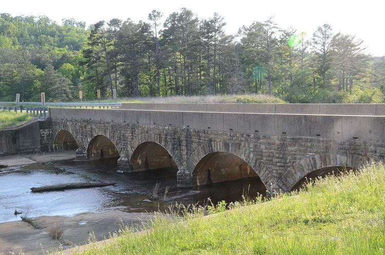Cove Lake Spillway Dam-Bridge
