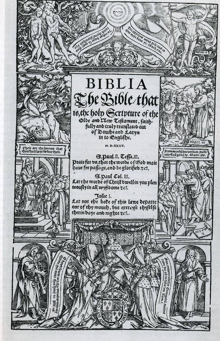 Coverdale Bible httpswwwoneontaedufacultyfarberasarthImag