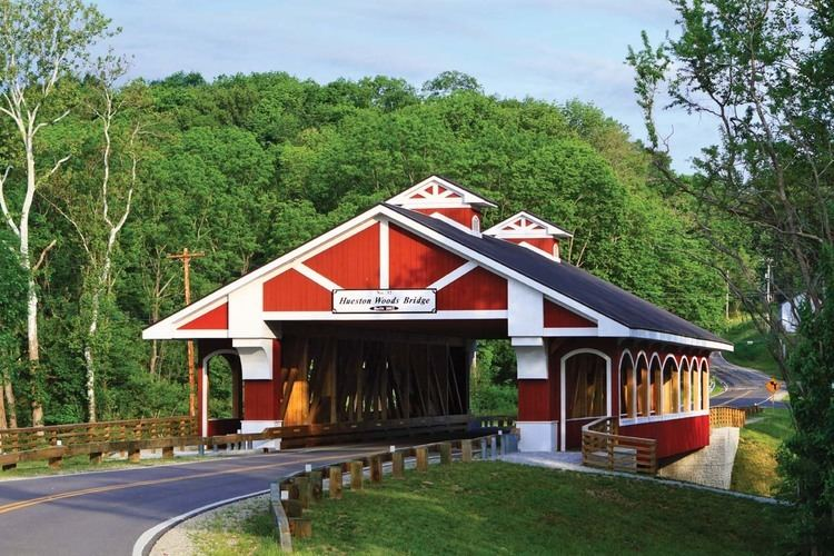 Covered bridge Covered Bridge Hueston Woods Lodge amp Conference Center