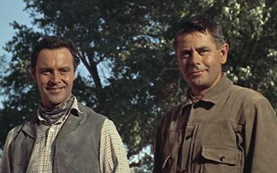 Cowboy (1958 film) Cowboy 1958 starring Glenn Ford Jack Lemmon Anna Kashfi Brian