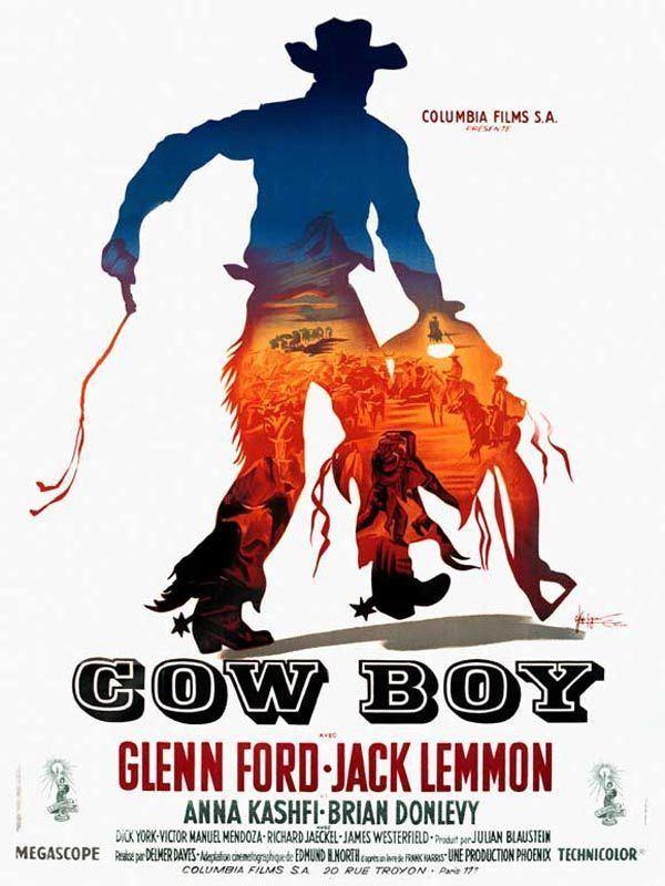 Cowboy (1958 film) Cowboy film 1958 AlloCin