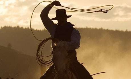 Cowboy The myth of the cowboy Books The Guardian