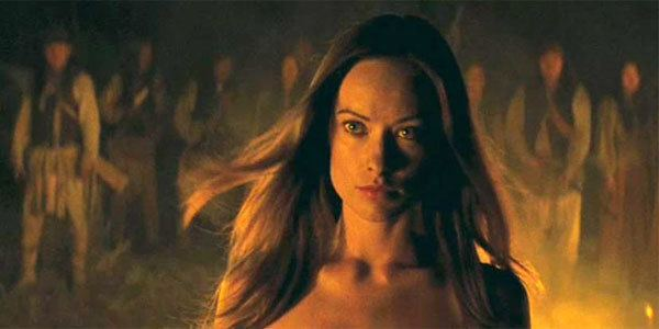Cowboys %26 Aliens movie scenes Home Movies Video Olivia Wilde discusses nude scene in Cowboys and Aliens