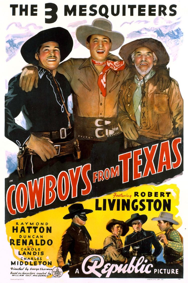 Cowboys from Texas wwwgstaticcomtvthumbmovieposters46597p46597