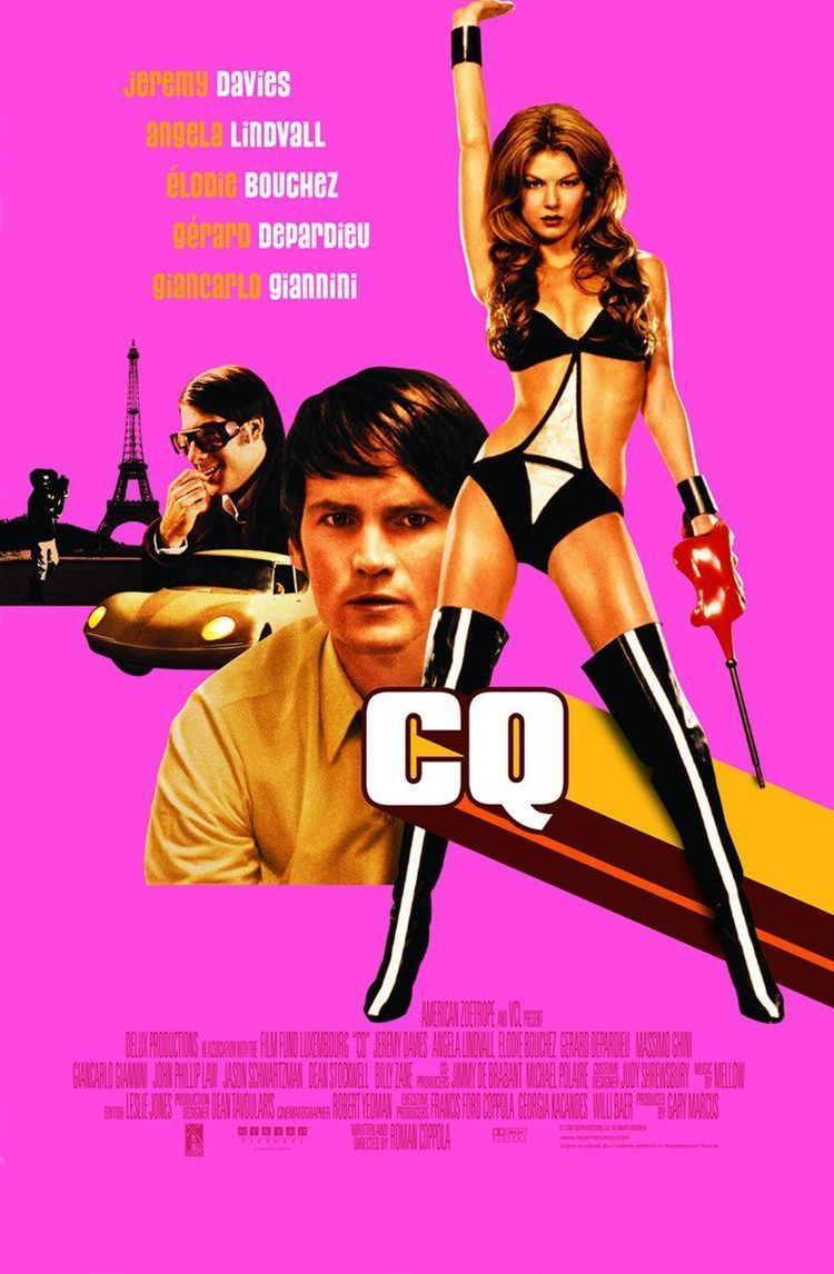 CQ (film) CQ Richard Crouse