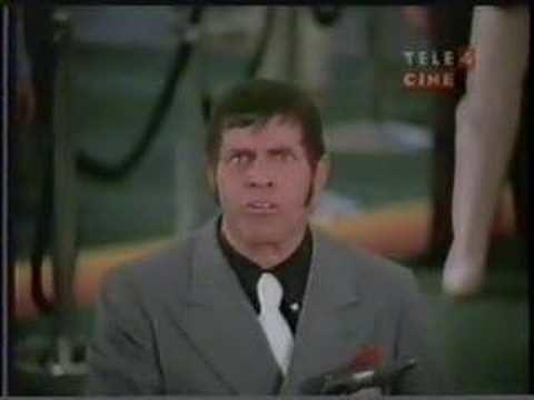 Cracking Up (film) Jerry Lewis bank heist scene YouTube